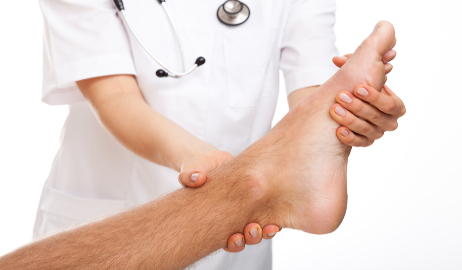 Ankle examination