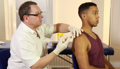 Step by step: principles of joint injection with a demonstration on the shoulder joint